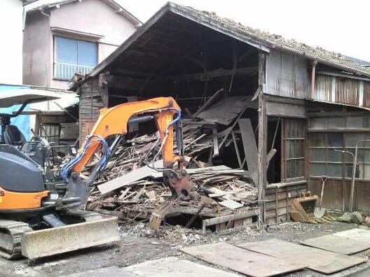 四つ木住宅解体工事(葛飾区四つ木)