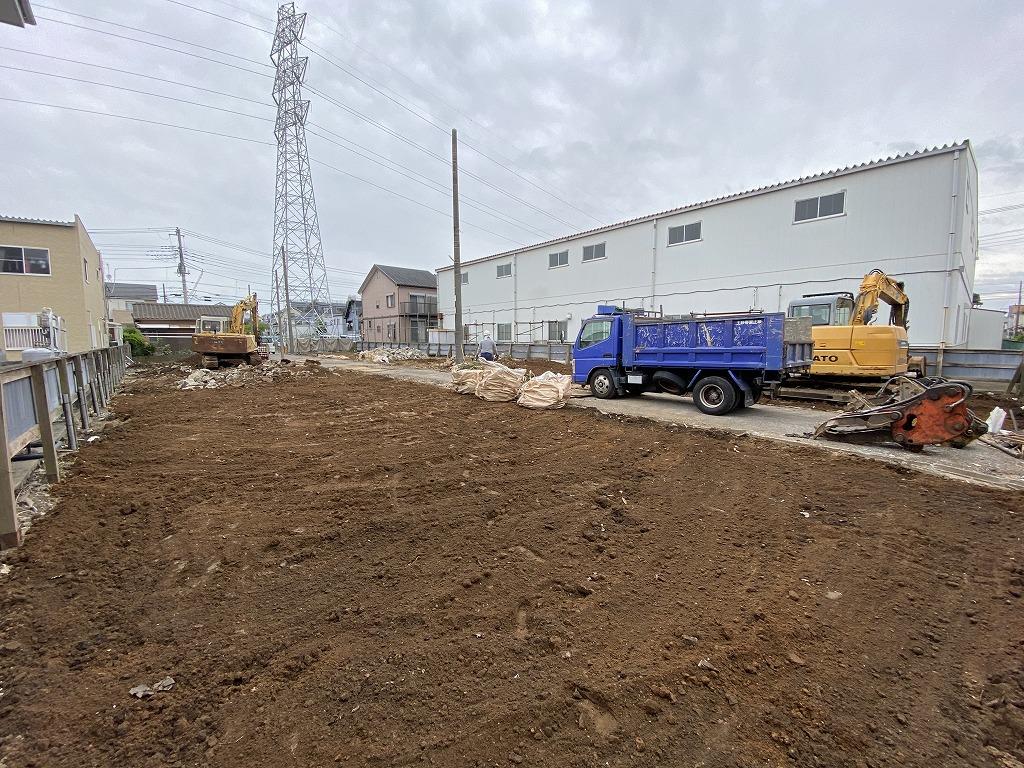 戸ヶ崎一丁目貸家解体及び駐車場造成工事