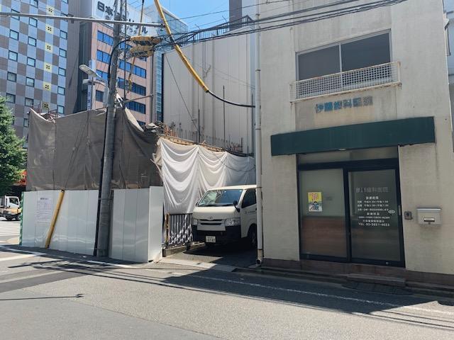 千代田区外神田6丁目解体工事現場調査