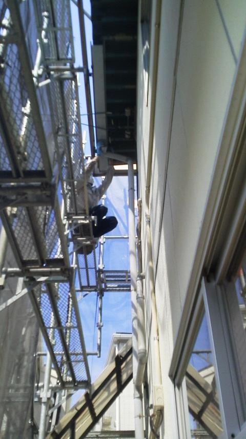 続:事務所屋根塗装・雨樋修繕工事
